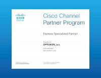 OPTOKON CISCO Express Specialized Partner 2020