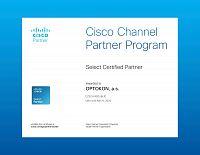 OPTOKON CISCO Select Certified Partner 2020